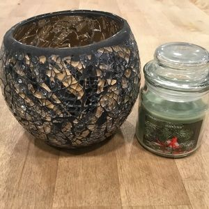 🆓 with $40 purchase! Candle and candle holder